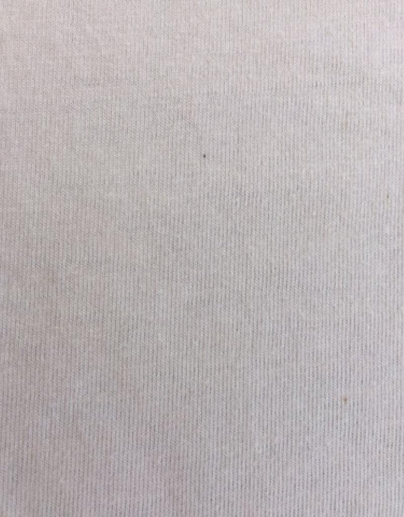 single jersey ecru OCCGuarantee  160grs.