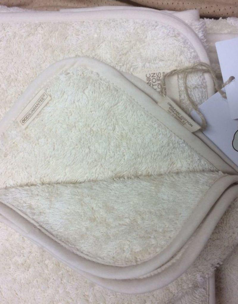 Face towel of 30x50cm.
