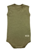 Body sleeveless baby. sizes 1, 3, 6 months.