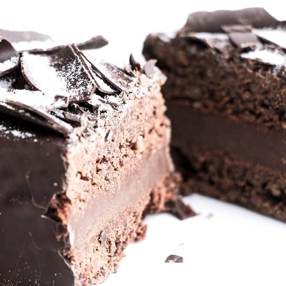 Chocolade-ganache cake