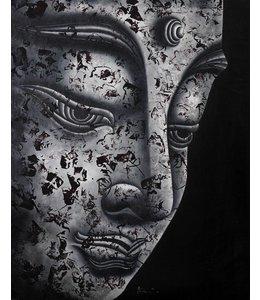 Art Gallery Ölgemälde Buddha BW1