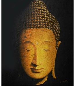 Art Gallery Ölgemälde Buddha_sunset01