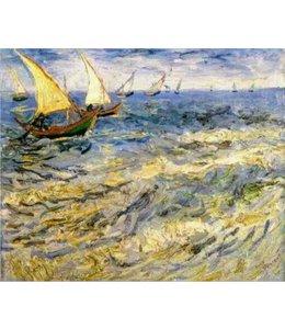 Art Gallery Vincent van Gogh - Das Meer bei Saintes Maries