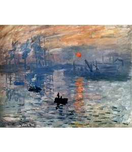 Art Gallery Impression Sonnenaufgang - Claude Monet