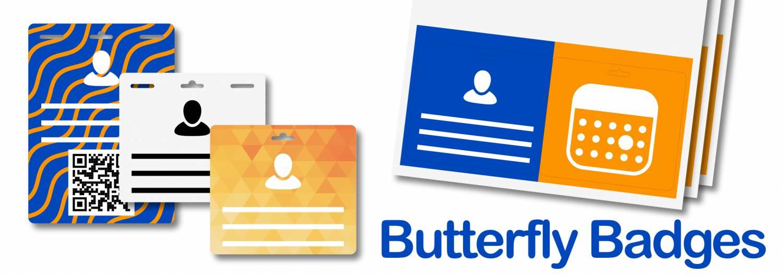 De Butterfly Badge