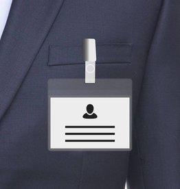 A7 Badge holder, Transparent