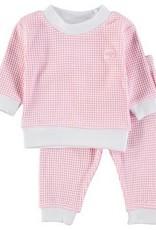 Feetje Pyjama wafel Rose