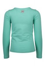 B. Nosy Girls ls v-neck shirt wit ice green