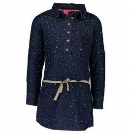 B. Nosy Girls aop dress with roll Midnight denim