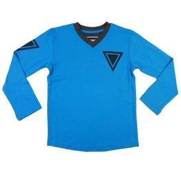 Legends 22 T-Shirt Triangle dark turq - grey