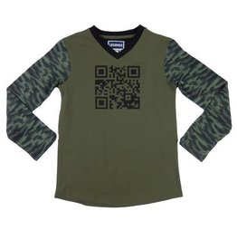 Legends 22 Barcode T-Shirt kaki + marble