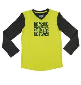 Legends 22 Barcode T-Shirt yellow neon / dark grey