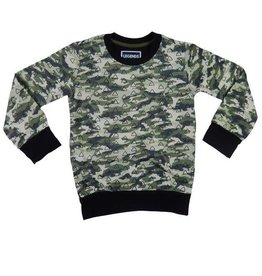 Legends 22 Sweater Triangle camouflage print