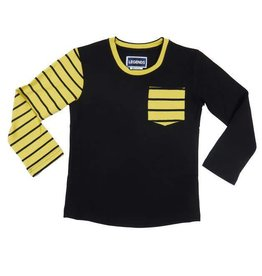 Legends 22 Striped sleeve T-shirt yellow black
