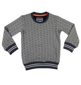 Legends 22 Sweater Triangle light grey melange