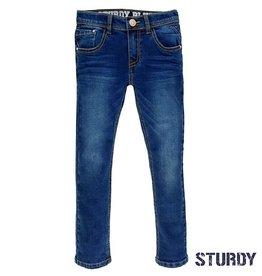 Sturdy Broek Blue denim Slim