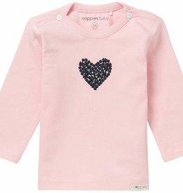Noppies T-Shirt Longsleeve Natick Light Rose