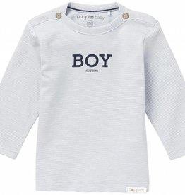Noppies T-Shirt Longsleeve Newman Grey Blue