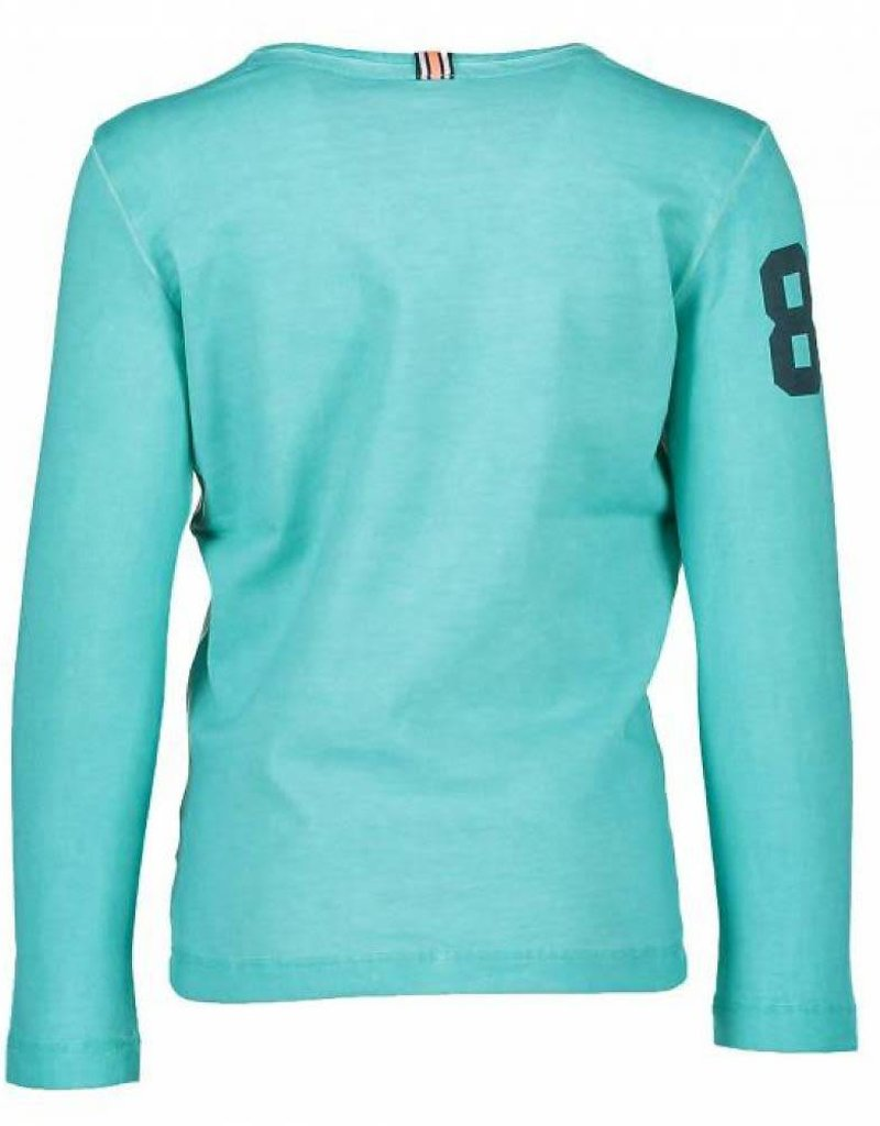 B. Nosy Garment Dye Shirt Aqua Marine