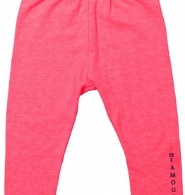 Born to be famous Legging Neon Coral