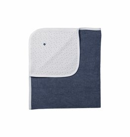 Born to be famous NB Towel - Navy