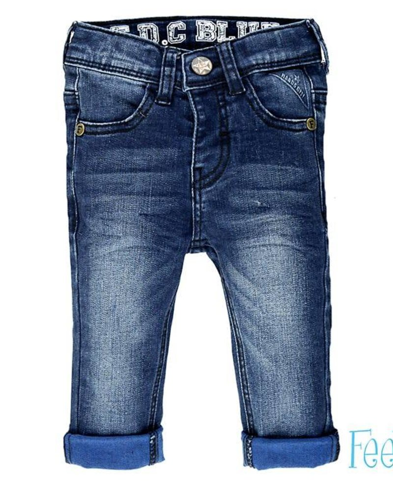 Feetje Broek Indigo Blue Denim slim fit