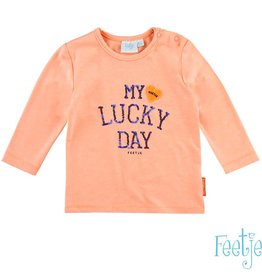 Feetje T-shirt l/m my lucky day Easy