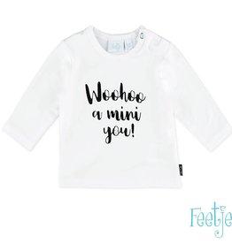 Feetje T-shirt l/m Woohoo Milk