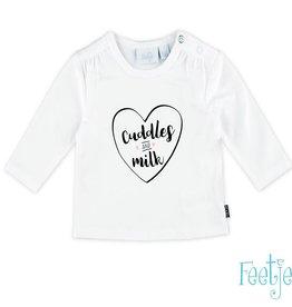 Feetje T-shirt l/m Cuddles Milk
