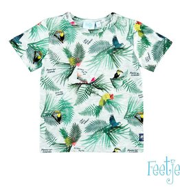 Feetje T-shirt k/m AOP Mini Island