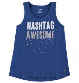 Cars Easy Singlet Indigo