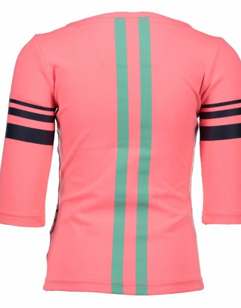 B. Nosy girls 1/2 sleeve with stripe print on sleeve and back Tutti frutti