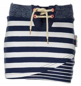 B. Nosy girls skirt double layer front Stripe blueberry/white