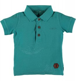 B. Nosy 2. Baby boys polo shirt with sea aop Aqua marine
