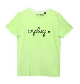 Jumping The Couch T-shirt unplug