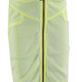 Kidz Art Rok Maxi front zipper + rib waist Neon Yellow