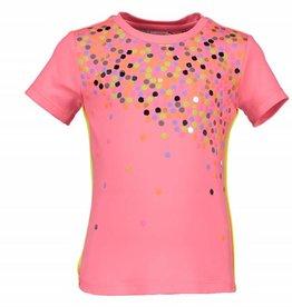 Kidz Art T-Shirt CONFETTI Neon Red