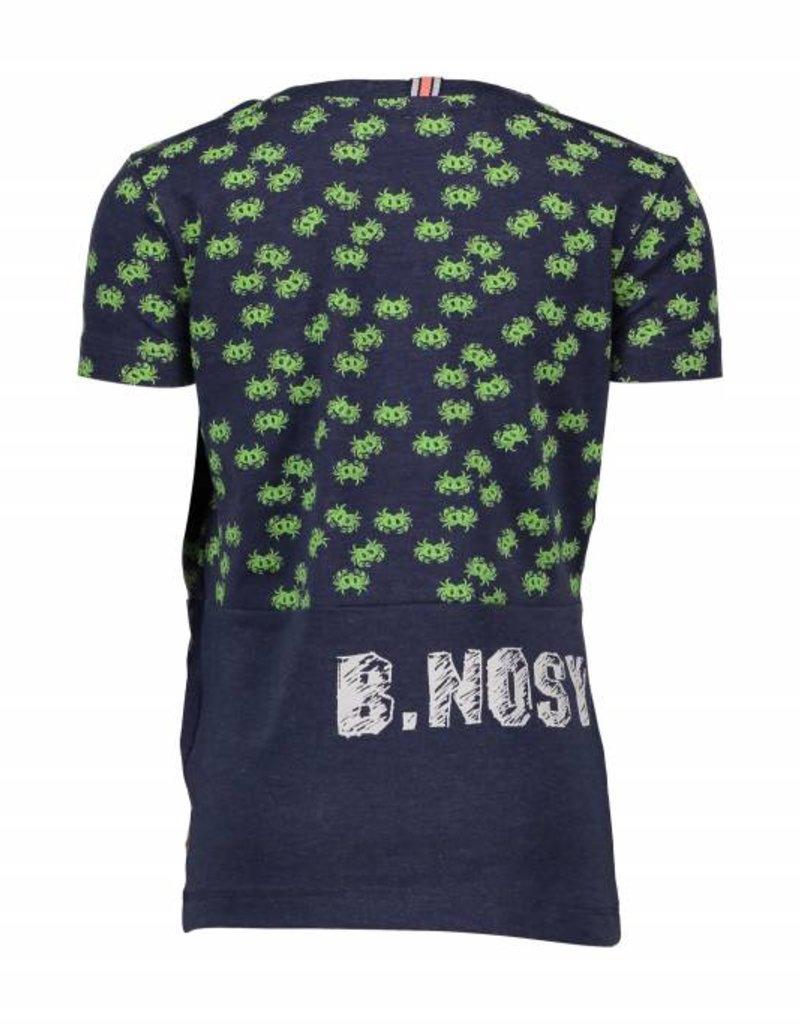 B. Nosy boys shirt 2 pieces, crap allover top part Jeans blue melee