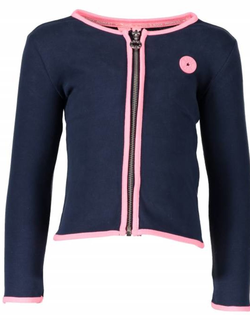 B. Nosy girls cardigan Blueberry