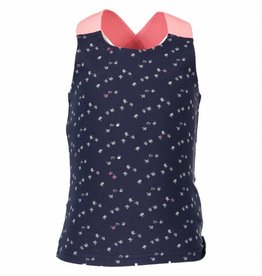B. Nosy girls tanktop with fluo elastic Blueberry