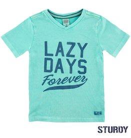 Sturdy T-shirt k/m lazy days Island