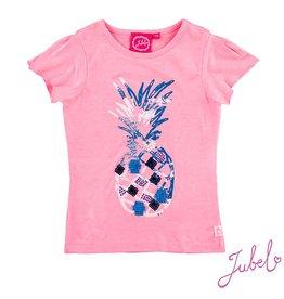 Jubel T-shirt k/m pineapple Exotic