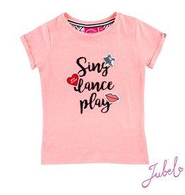 Jubel T-shirt k/m Sing Dance Play Ethnic