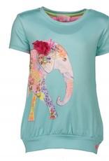 Kidz Art T-Shirt Girls fancy Elephant