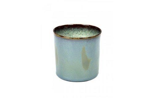 Serax Cilinder Hoog Rokerig Blauw