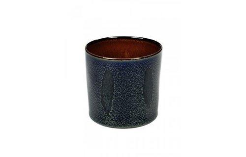 Serax Cilinder Hoog Roest Donkerblauw