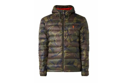 Ralph Lauren Light Jacket With Camo Design