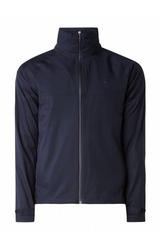 Ralph Lauren Windjack With Logo Embroidery And Removable Capuchon