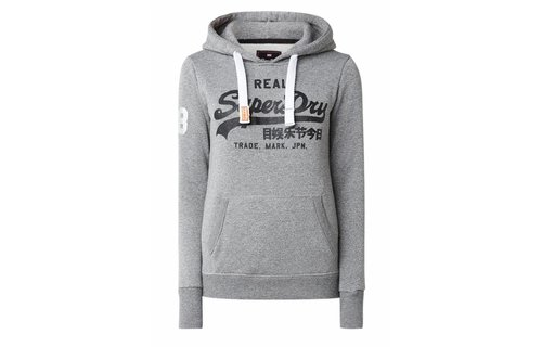 Superdry Hoodie With Logoprint And Lurex
