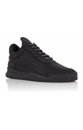 Filling Pieces Low Top Ghost Microlane Sneaker From Nubuck